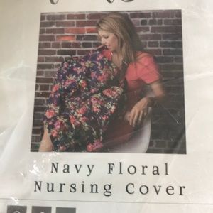 Other - NWT nursing Cover W/ Hoop